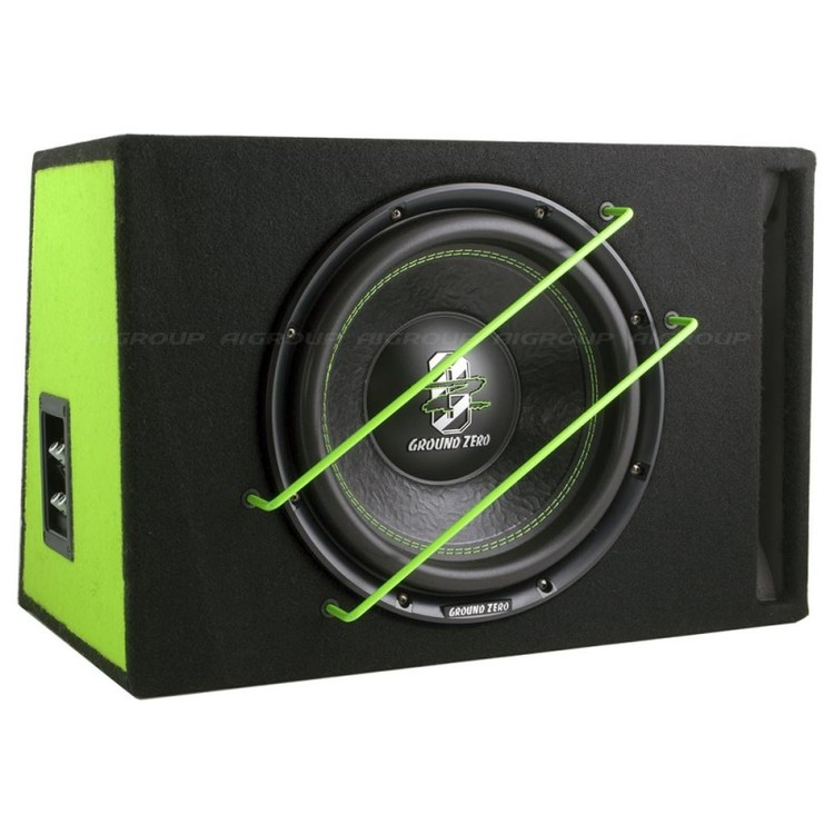 Ground Zero GZIB 3000XSPL Green Edition