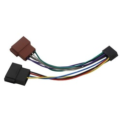 4 Connect ISO-kablage Kenwood 16P
