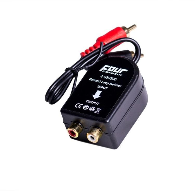 4 Connect RCA störningsfilter