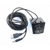 4 Connect USB+Aux förlängningskabel 2,0m