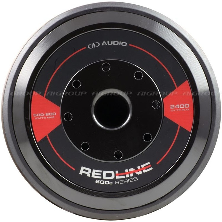 DD Audio Redline 612e 2x2 Ohm