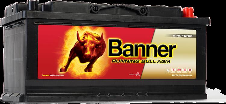 Banner Running Bull AGM 105 Ah