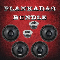 "DD Audio Redline 6,5"" paket"