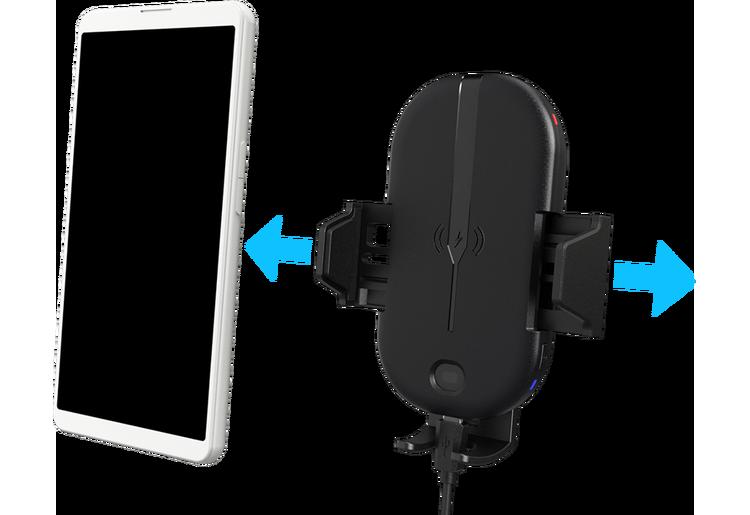 Kenwood Mobilhållare Qi Wireless Charging