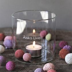 Ljuslykta Älska livet!