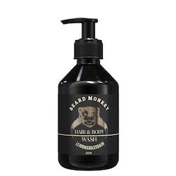 Hair & Body Wash 250 ml- Lemongrass Rain