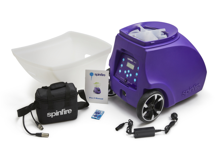 Spinfire Pro 2 (v2) Internt batteri