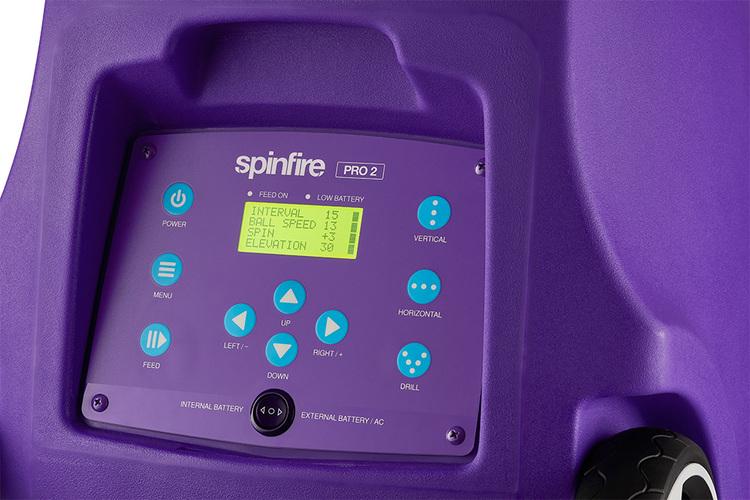 Spinfire Pro 2 (v2) Externt batteri