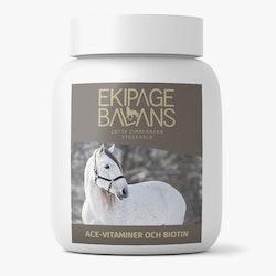 Balans hästvitaminer, ACE-Vitaminer och Biotin (grundvitaminer)