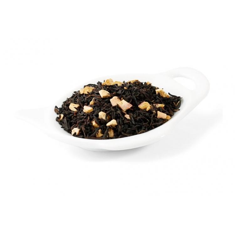 Svart rabarber med grädde