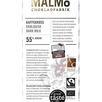 Malmö Chokladfabrik Kaffekross 80g