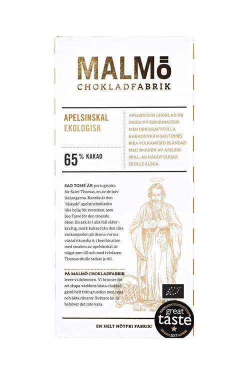 Malmö Chokladfabrik Apelsinskal