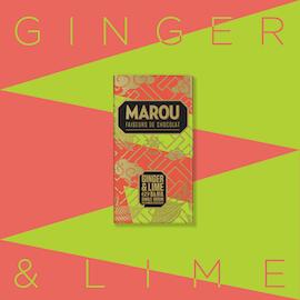 Marou Ginger/Lime 80g