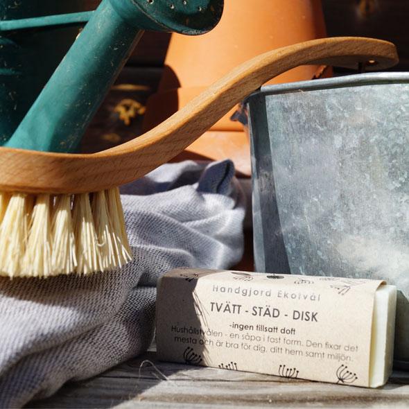 Ekotvål Tvätt-Städ-Disk utan tillsatt doft