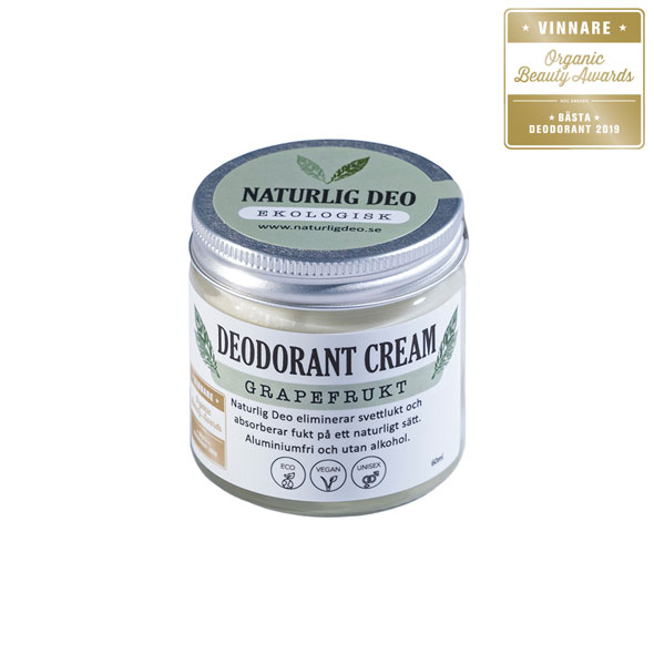 Deodorant cream Grapefrukt