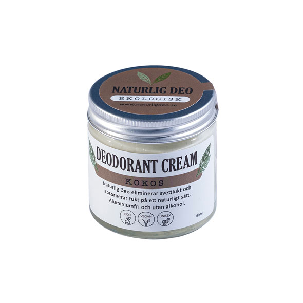 Deodorant cream Kokos