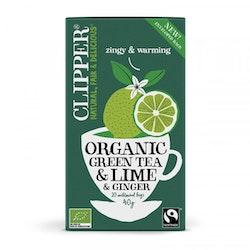 Grönt te med Lime & ingefära
