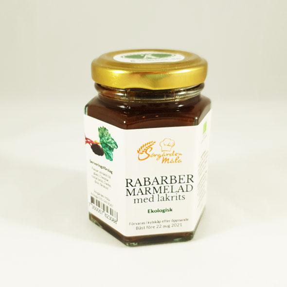 Marmaled Rabarber med lakrits