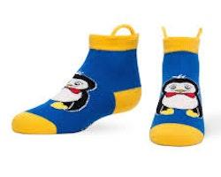 Ezsox barnstrumpor - Pingvin & Groda 2-pack (19-34)