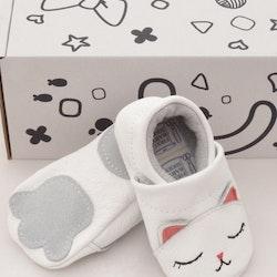 Baby mockasiner - katt 3-21mån