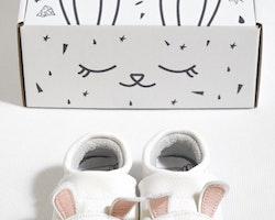 Mockasiner till baby - kanin 3-21mån