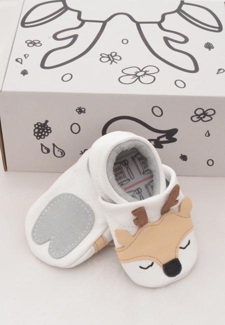 Mockasiner till baby - rådjur 3-21mån