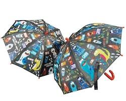 Paraply för barn - Monster
