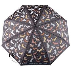Paraply för större barn - Katter och hundar