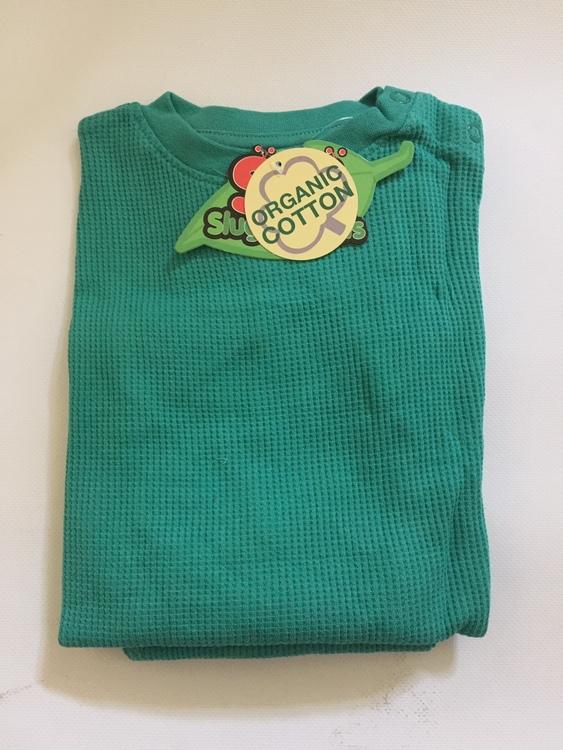 Myskläder - Våfflad bomull - Djungelgrön -3år-Medium