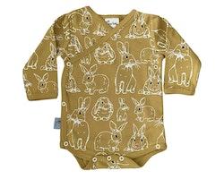 Babykläder omlottbody - Kaniner 0-18mån