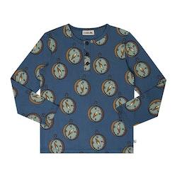 Långärmad farfar tröja - Kompass 86-152cl