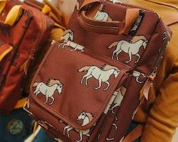 Ryggsäck för barn - Vildhästar - 4-12år