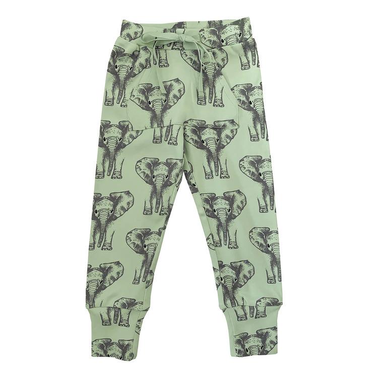 Joggingbyxor barn - Tunna - Elefanter 1-8år