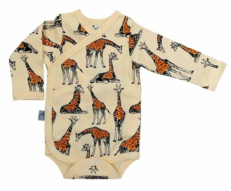 Omlottbody baby - Giraff 0-12mån