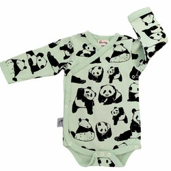 Omlottbody baby - Pandor - 0-12mån