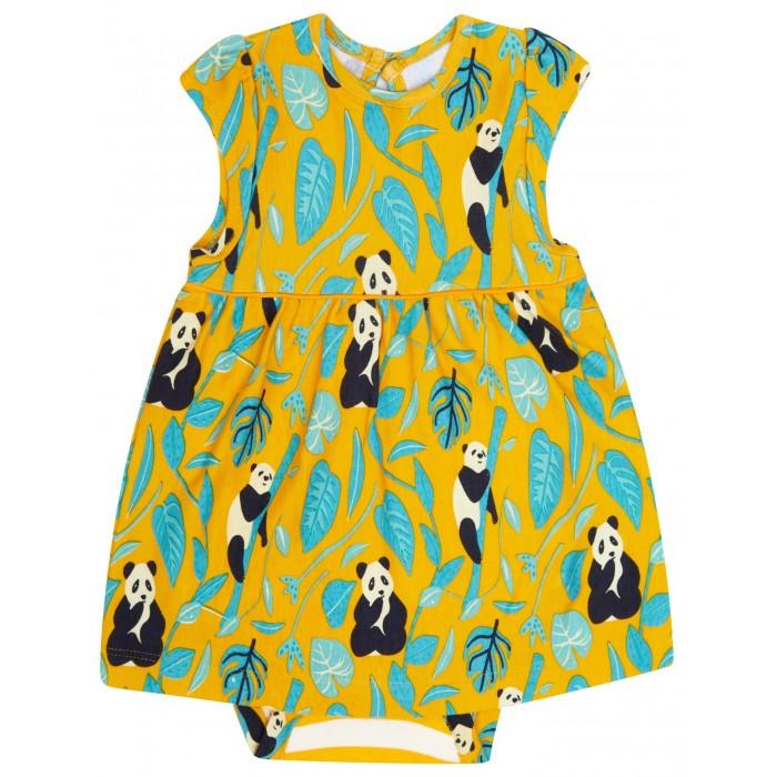 Babyklänning Panda - 0-24mån