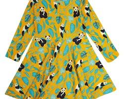 Snurrklänning barn - Panda 2-8år