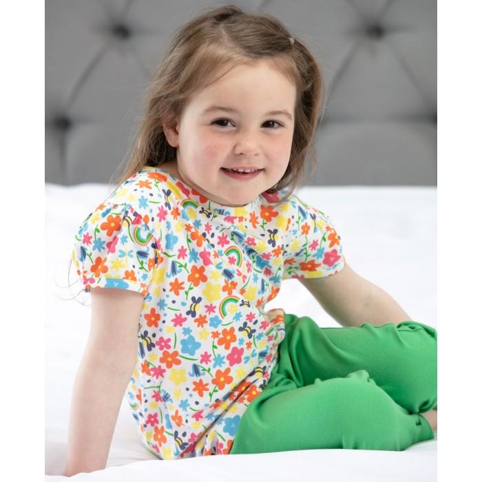 T-shirt barn - Regnbågsäng 1-6år