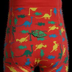 Barnstrumpbyxor Dinosaurier - med halkskydd 0-6år
