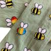 Barnstrumpbyxor Rain bee - med halkskydd 0-6år
