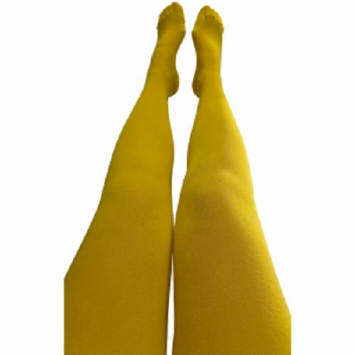 Barnstrumpbyxor Sunflower yellow- med halkskydd 1-10år