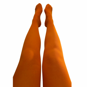 Barnstrumpbyxor Sunrise orange- med halkskydd 1-10år