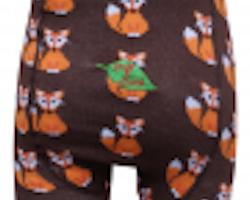 Barnstrumpbyxor med halkskydd - Räv 0-6år
