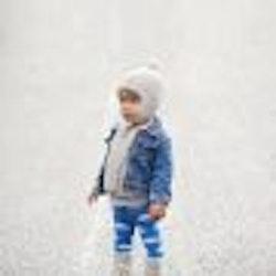 Droppar! Ekologiska barnstrumpbyxor med halkskydd 0-6år