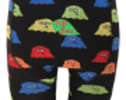 Spöken! Ekologiska barnstrumpbyxor med anti-slip 0-4år