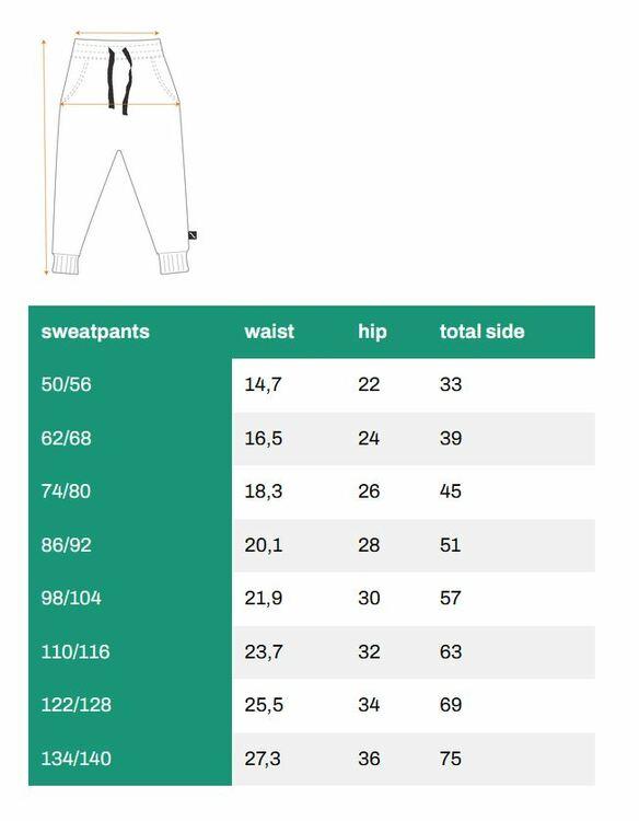 Barnbyxor sweatpants ekollon -62-152cl