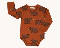 Body mönstrad björnar - 50-92cl