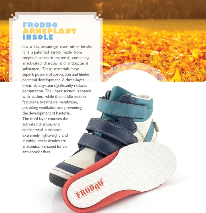 Fodrade sneakers - mörkblå (G2110075 stl.20, 22)