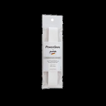 PowerGrips Premium Tacky Overgrip vit, 1 styck
