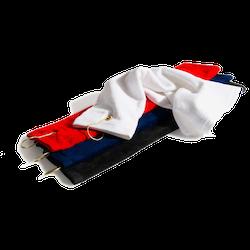 Svetthandduk 2-pack (blå + röd)
